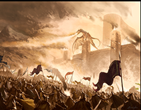 The final battle of Feanor (Fantasy music)