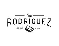 Rodriguez Print Shop Logo