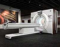 GE Revolution CT - CGI renders