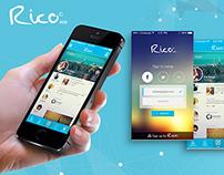 Rico app - Social Network