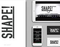 Shape! / corporate identity