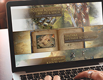 Might and Magic®: Heroes Online  Parallax Landing