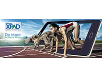Campaigns for XPAD tablets and smartphones