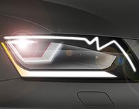 New Audi Lights