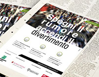 Advertising campaign for Legambiente and Radio Colonna