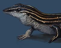 Ground Lizard