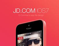 JD.COM IOS7 Redsign V1