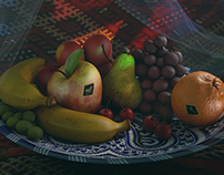Moroccan fruit bowl (lighting)
