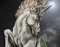 Unicorn Digital Painting