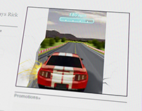 RAZRi Car Racer Standard Banners | Motorola