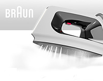 Braun steam iron