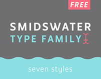Free Smidswater Typeface / Font