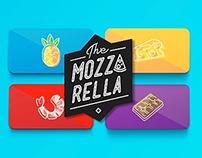 The Mozzarella - Pizza Branding