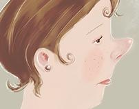 Portrait & Profile of Edith ~