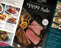 Omaha Steaks March Mailer