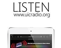 "UIC Radio ""Listen"" Campaign"