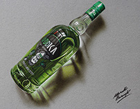 Oddka vodka - drawing