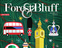 Forest & Bluff Christmas Cover