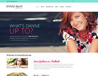 Danne Reed Website Designb