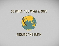 Rope around the Earth