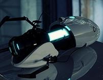 Portal 2 Gun: Cycles Render