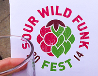 Upland Brewing Co. - Sour Wild Funk Fest 2014