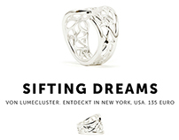 """Sifting Dreams"" Ring (Stilnest)"