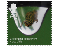 Biodiversity Postage Stamps, Celebrating Life on Earth