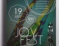 Joy Fest Flyer