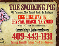 The Smoking Pig Identity Pkg