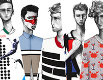 Winq Magazine Fashion Illustration Editorial Pitch