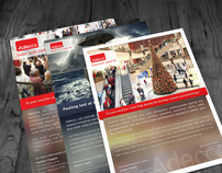 Adecco: Holiday Flyers