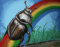 BUS STOPS FOR COLORS, The Beetle's stop