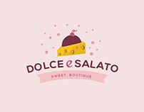 """Dolce e Salato"" Identity + Packaging"