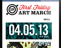 "Art March Savannah Website ""Retool"""