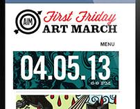 "Art March Savannah Website ""Retool"""