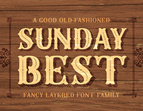 Sunday Best Font Family