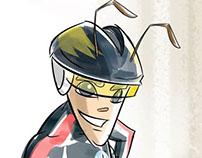 Ant-Man Mascot