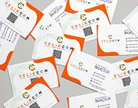 Çelikcom Logo + Kartvizit