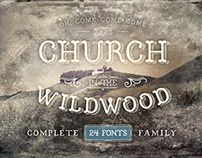 Church in the Wildwood Font Family