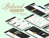 UI Design: Beloved Fashion App