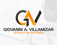 Giovanni A. Villamizar // Branding // Stationery