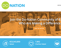 Do-Nation - Website Design & Development