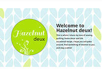 Hazelnut Deux | Website Design