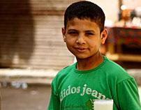 Egyptian Street Faces