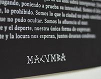 MACUMBA ESTUDIO/ Muestra en espacio NO OBTRUIR