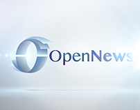 Open News Logo Animation/ Logo Sting