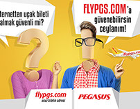 FLYPGS PRINT CAMPAIGN