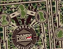 Camouflage Wayang
