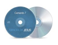 CD Cantando 7 - Manoel de Jesus (Projeto Gráfico)